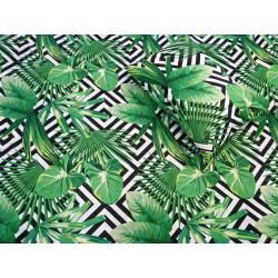Tropikai žalias patalynės...